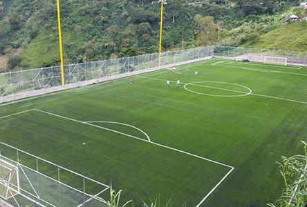 Una cancha de fútbol para promover el deporte y los valores en los niños y  jóvenes 972a78c070792